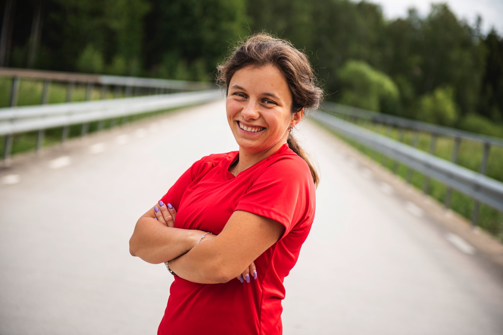 Elin Lundegård från Vrena har varit med i Special Olympics-Klassikern sedan starten 2017.