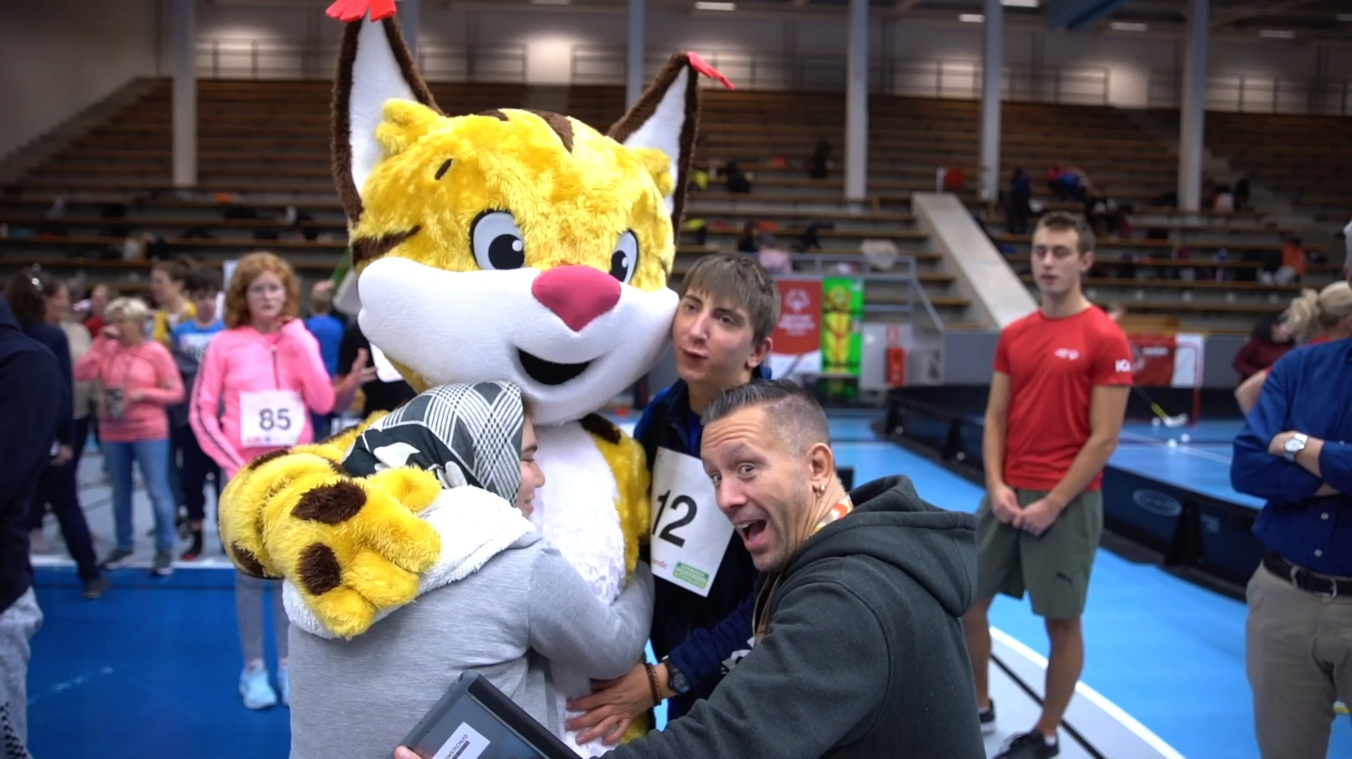 Gott nytt år önskar Special Olympics Sverige.