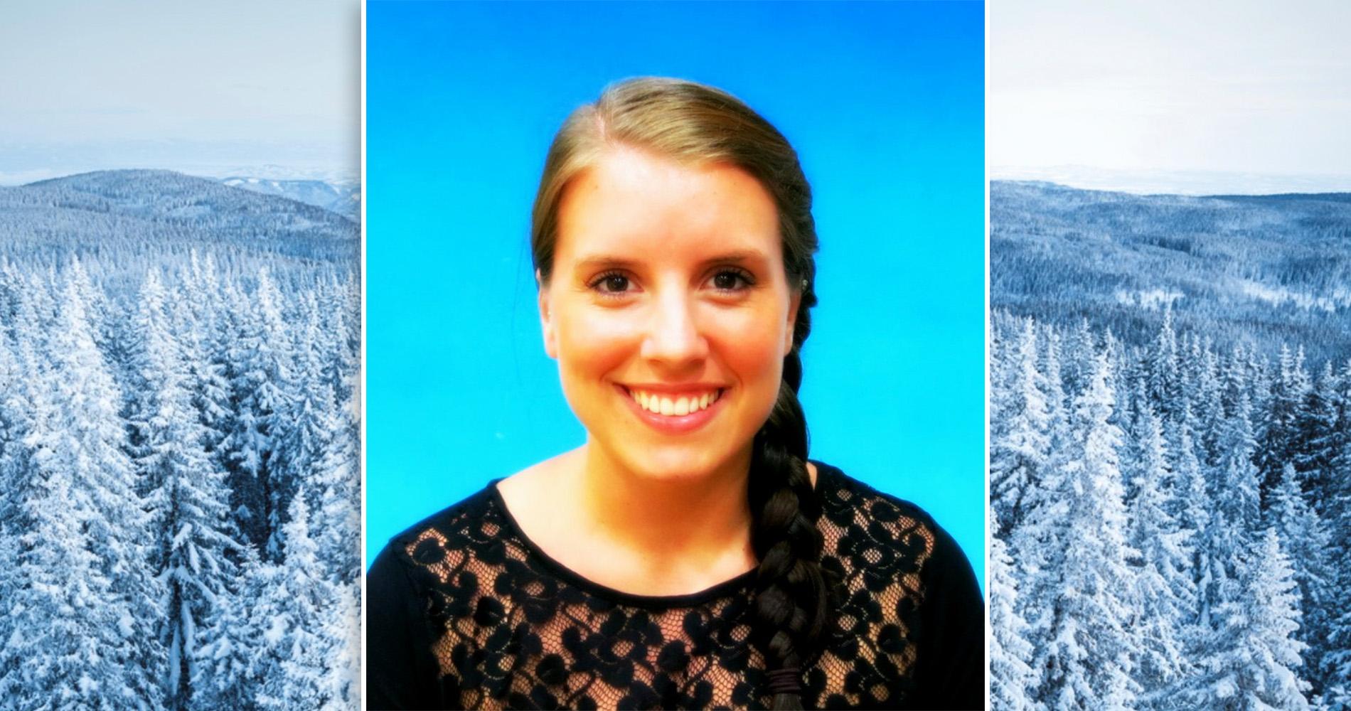 Stella Kaffke, volontär på Special Olympics Sweden Invitational Games 2020. Foto: Privat