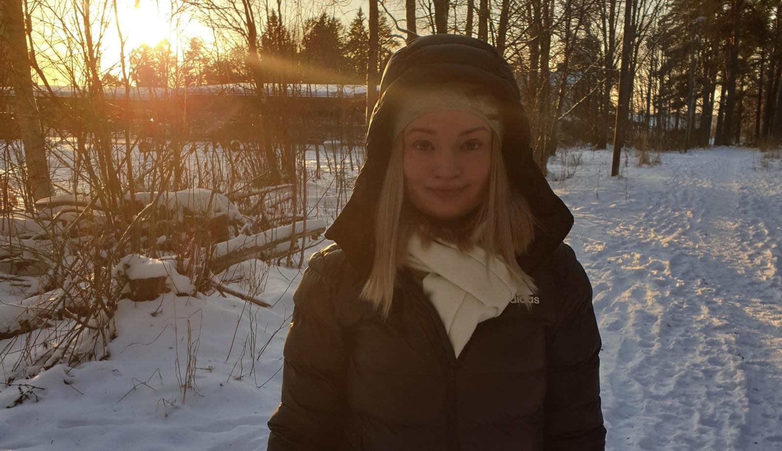 Viktoriia kommer att hjälpa till som volontär på Special Olympics Sweden Invitational Games 2020.