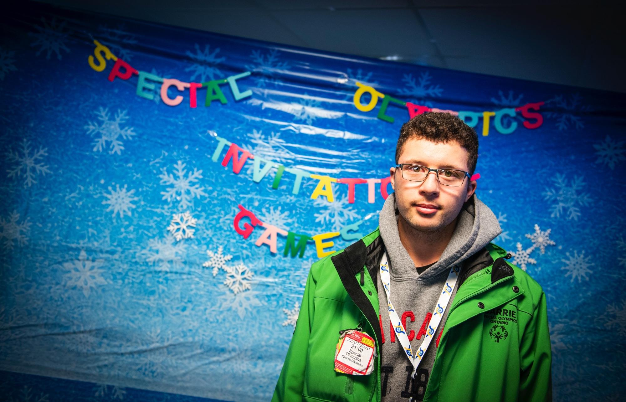 Samuel Windross, Special Olympics Canada.