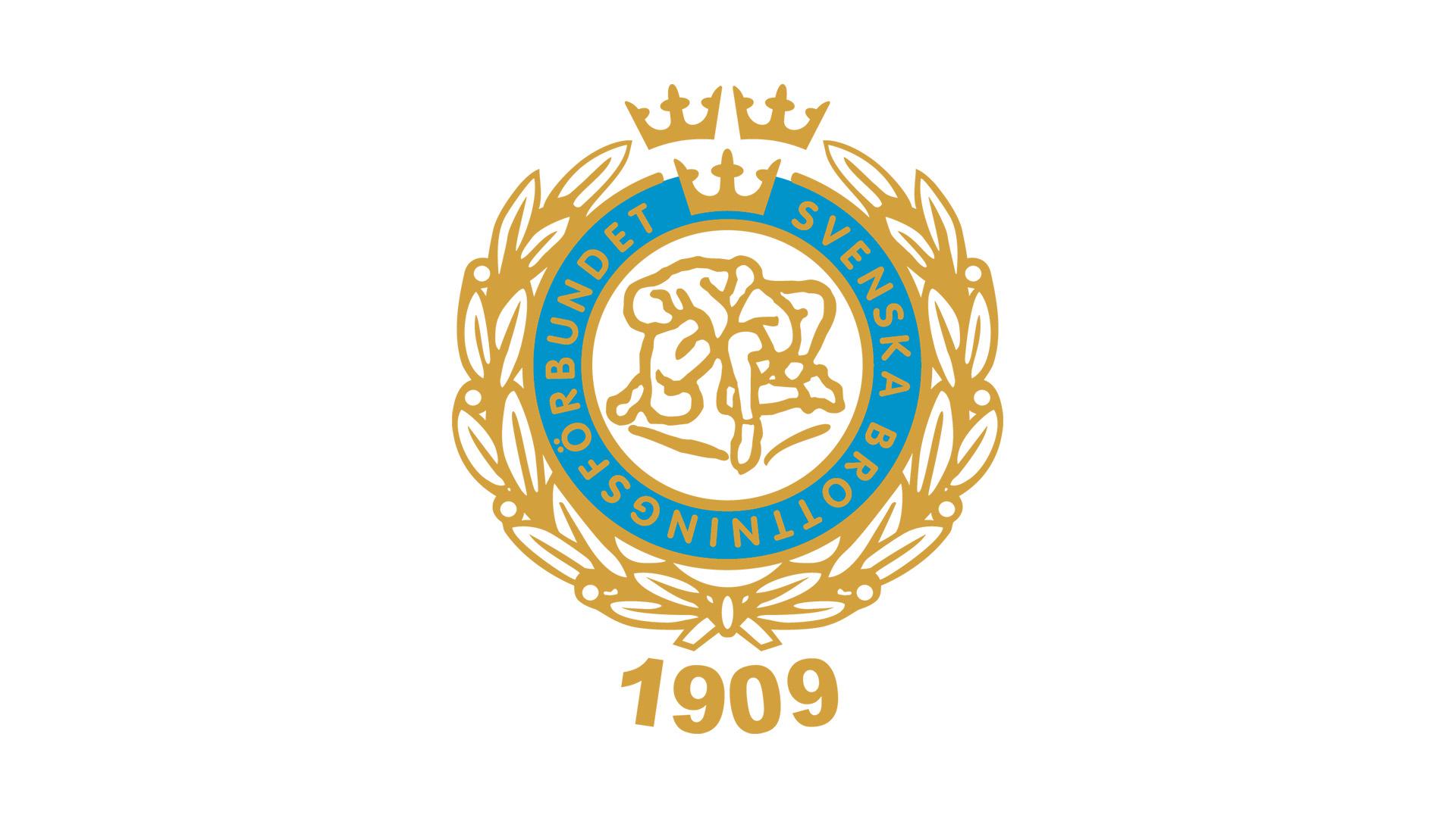 Svenska brottningsförbundets logotyp.