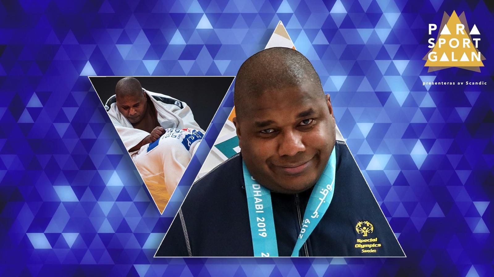 Judokan Michael Mike Malmer har chansen att vinna Årets prestation inom Special Olympics på Parasportgalan den 30 mars.