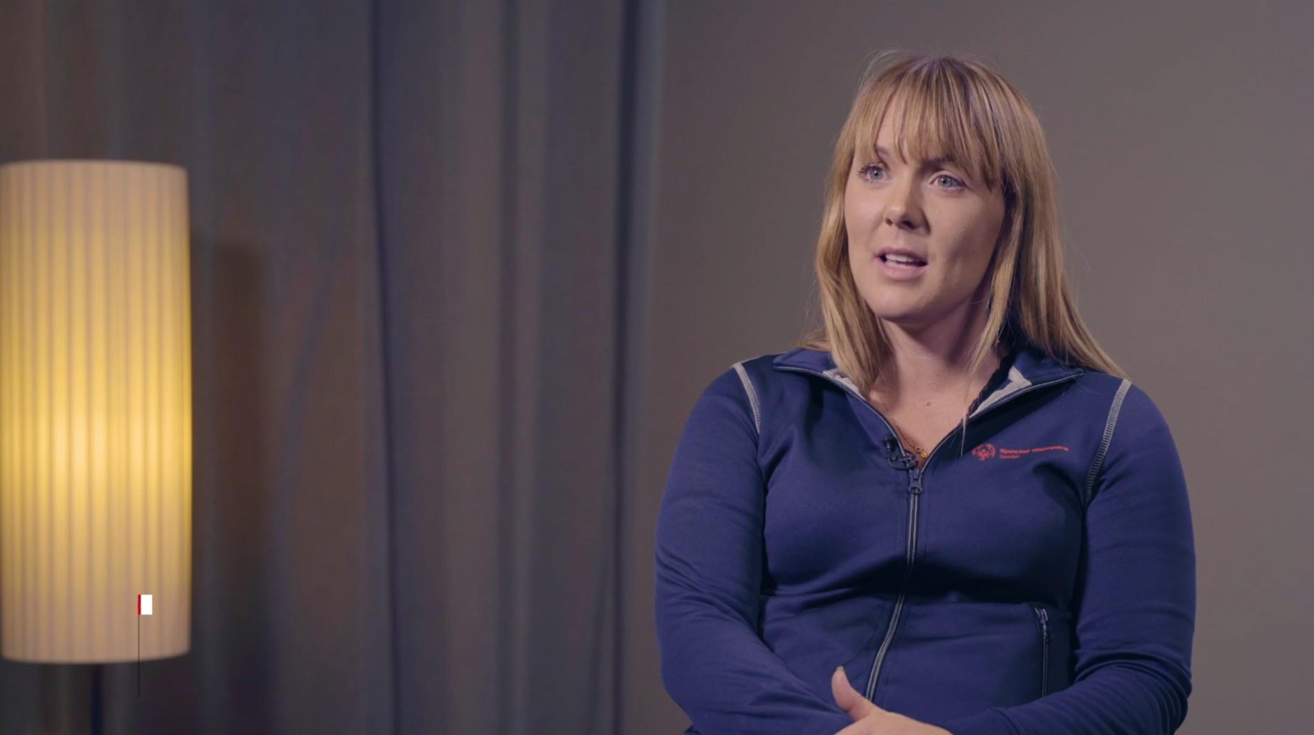 Linnéa Björndahl, ansvarig Special Olympics Sverige.