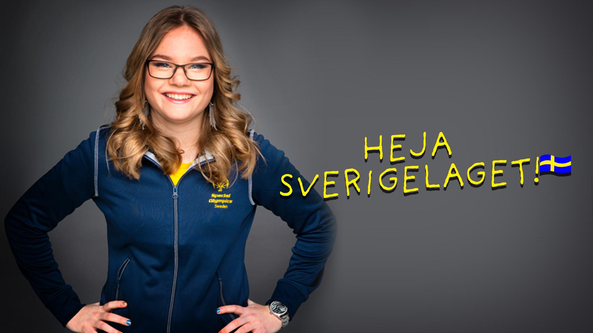Lille Ruoskanen är en av idrottarna som tittarna får följa i tv-serien Heja Sverigelaget!.