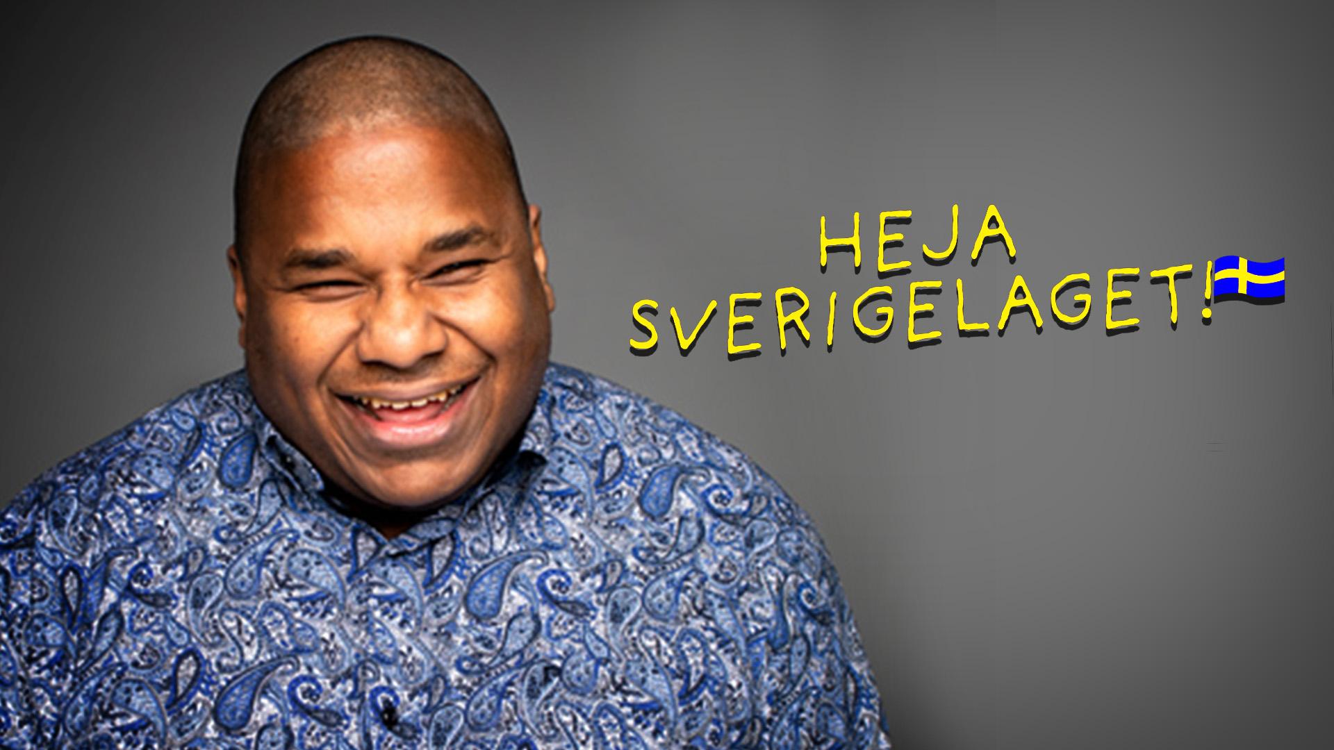 Mike Malmer är en av idrottarna som tittarna får följa i tv-serien Heja Sverigelaget!.