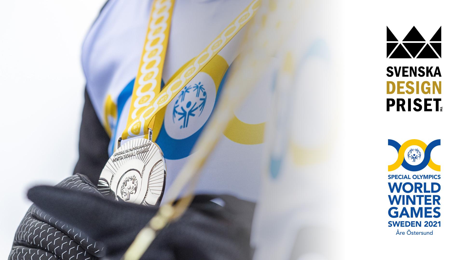 Special Olympics World Winter Games Sweden 2021 nominerat till Svenskan Designpriset.