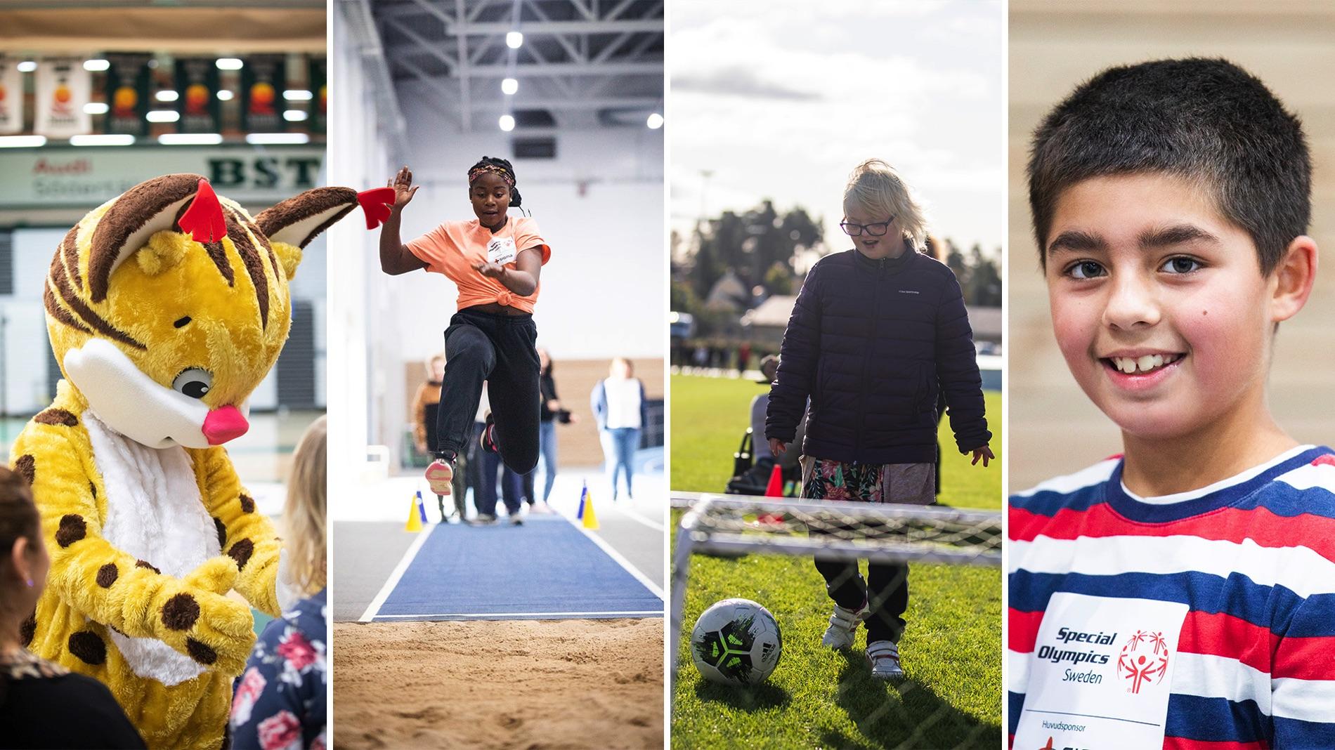 Special Olympics School Days i Södertälje.